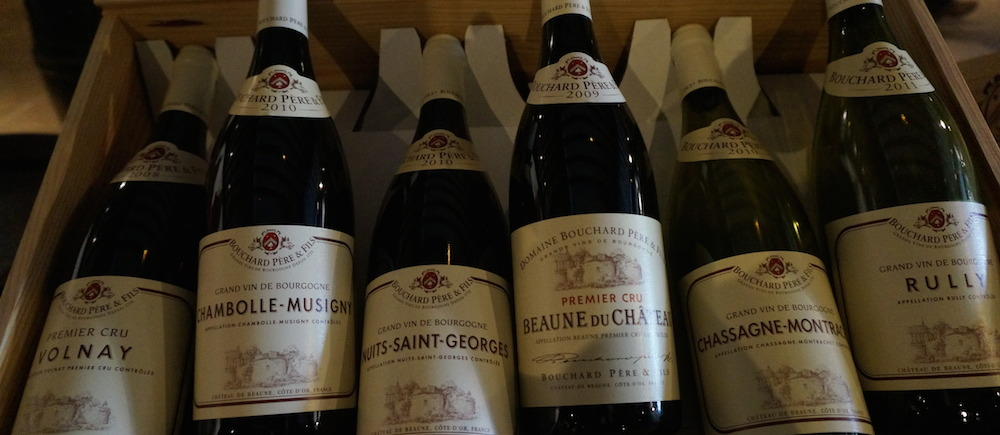 Bouchard Pere et Fils Wine Sample